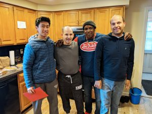 Volunteer Delivers Holiday Lunches to our Group Homes